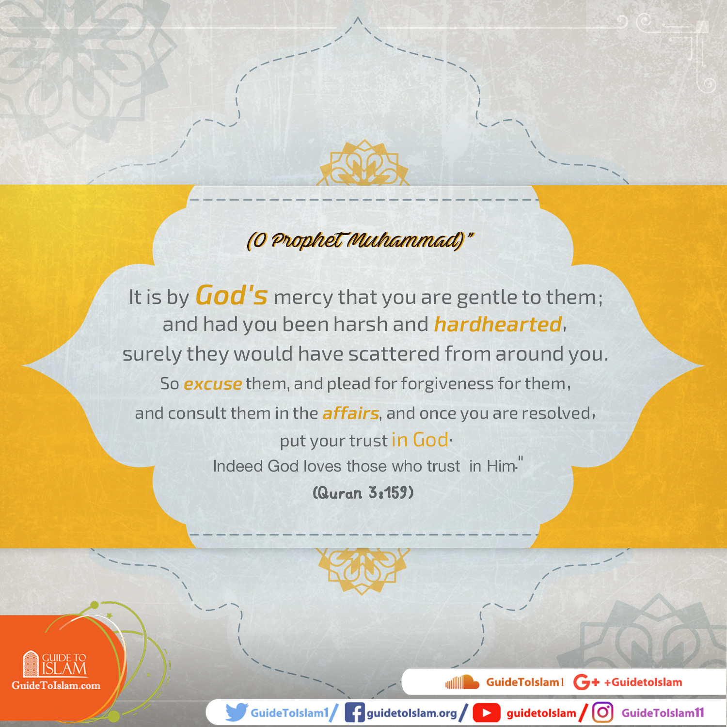 The Kindness of Prophet Muhammad