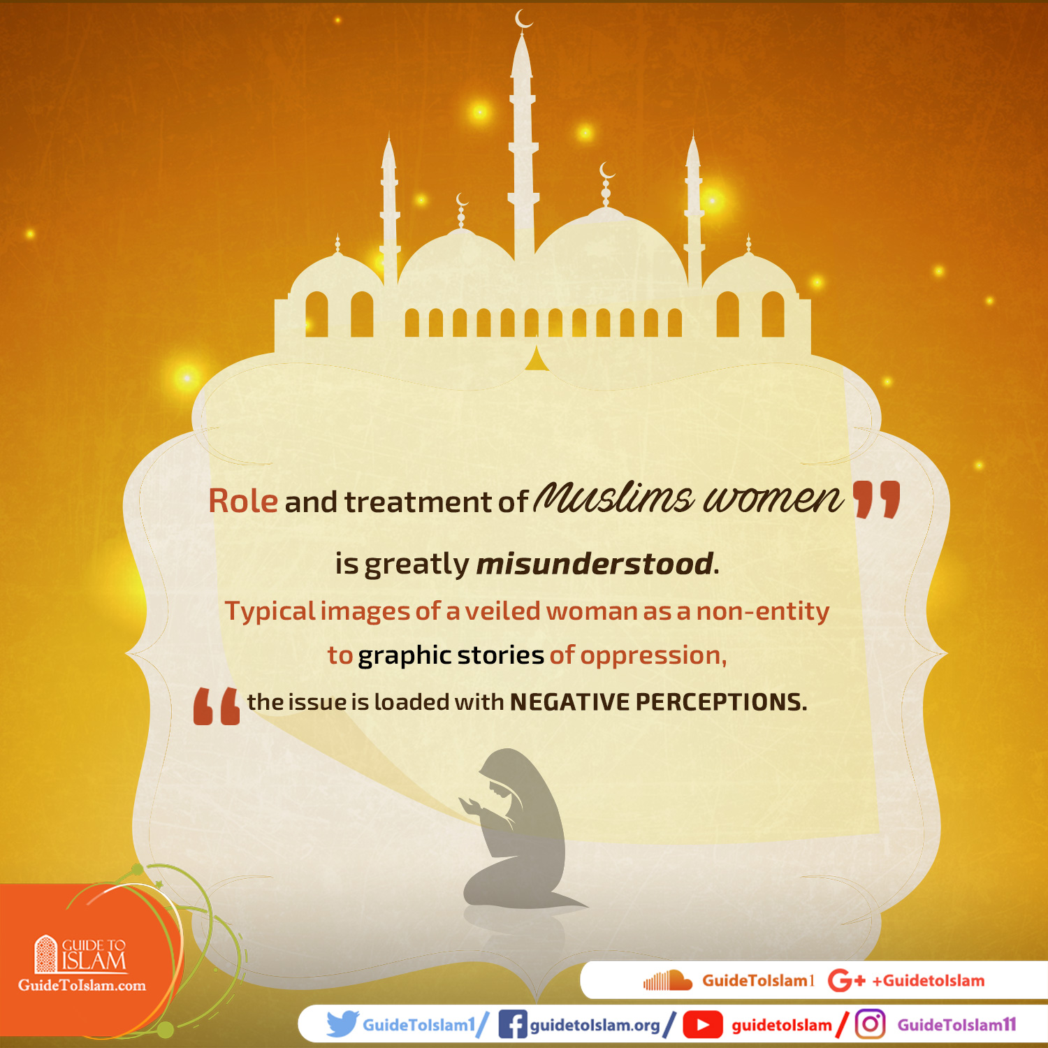Role and treatment of Muslims women