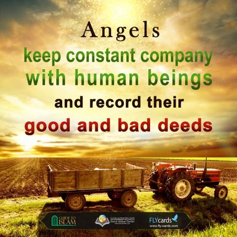 تسجيل الملائكة