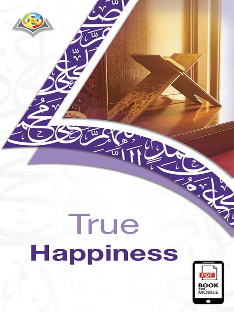 السعادة الحقيقية - باللغة الإنجليزية