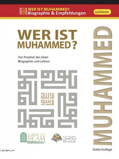 من هو محمد صلى الله عليه وسلم ؟ - باللغة الألمانية