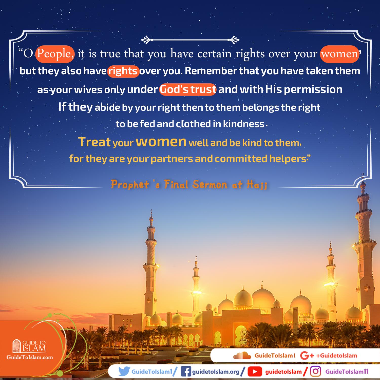 Prophet's Final Sermon at Hajj
