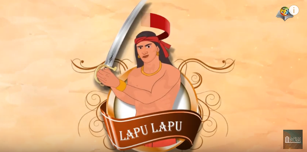 Lapu Lapu is the champion of the Philippines - Filipino version