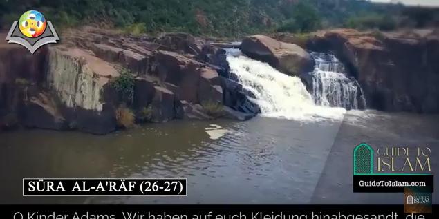Surah Al-A'raf (26-27) - German