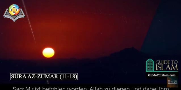 Surah Az-zumar (11-18) - German