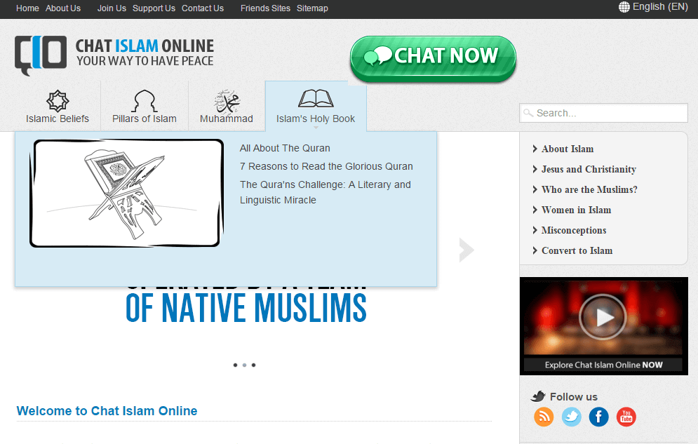 Chat Islam Online
